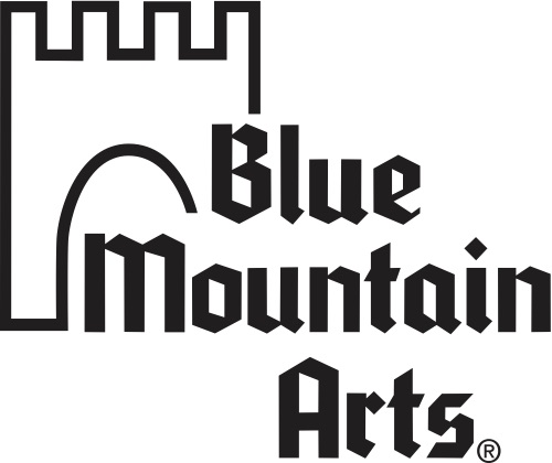 Blue Mountain Arts logo - Links to website
