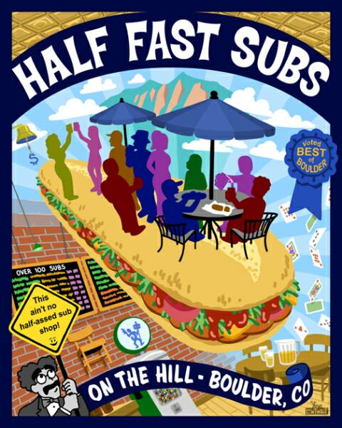 Half Fast Subs logo - Links to website