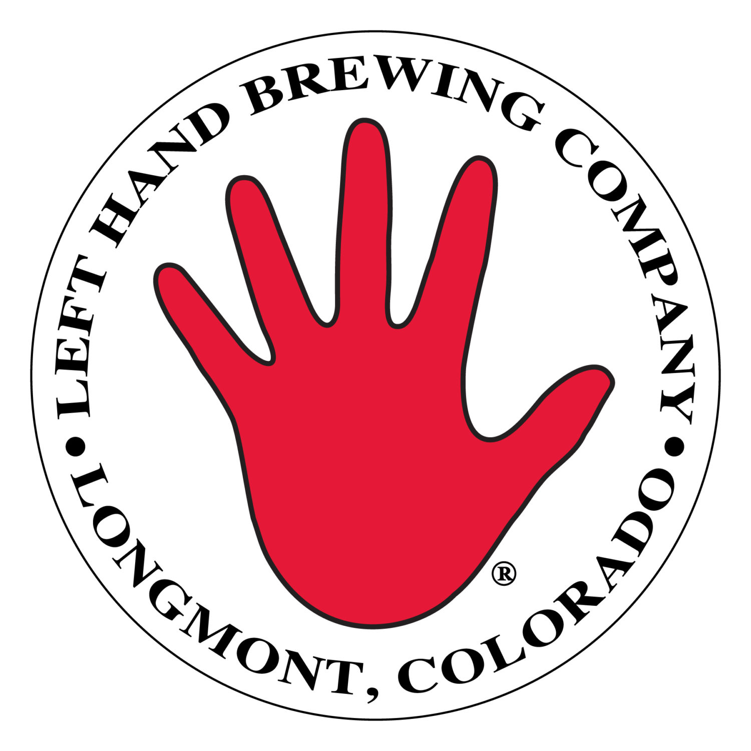 Left Hand Brewing Company logo - Links to website