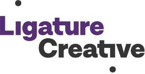 Ligature Creative Group logo - Links to website