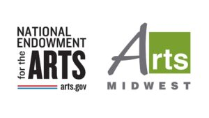 Arts Midwest and National Endowment for the Arts logos
